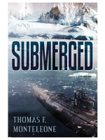 SUBMERGED by Thomas F. Monteleone — Hardcover SIGNED