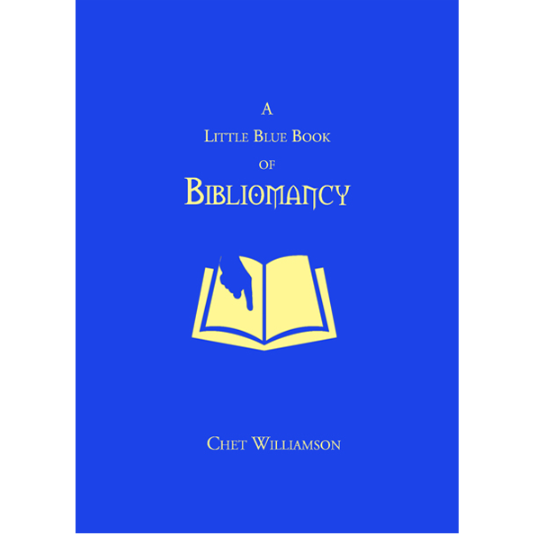 A Little Blue Book of Bibliomancy featuring Chet Williamson