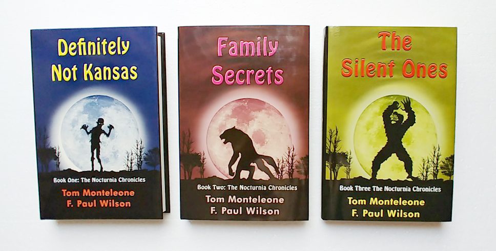 Picture of the Nocturnia Trilogy, all three books